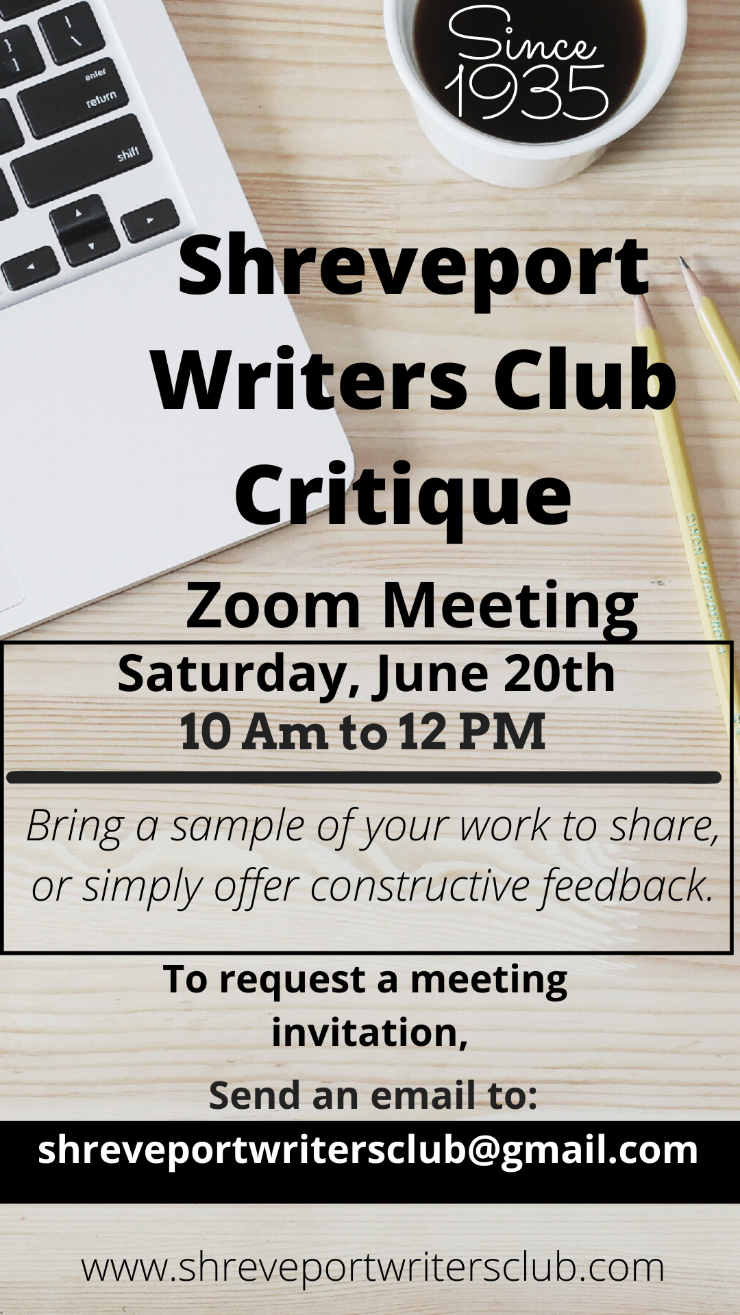 Shreveport Writers Club Critique (1)